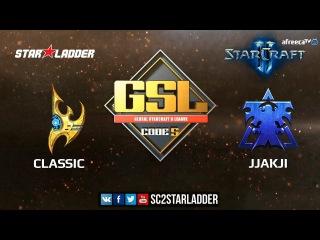 2018 GSL Season 1 Ro32 Group G Match 2: jjakji (T) vs Classic (P)