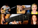 Coldplay 'Hymn for the Weekend' - Zander Zon (3 bass guitars) ft. KJC (vocals, violin, piano)