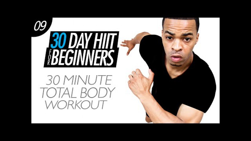 30 Min. Total Body Tour Guide - Cardio, Arms, Legs Abs | Beginner HIIT 09