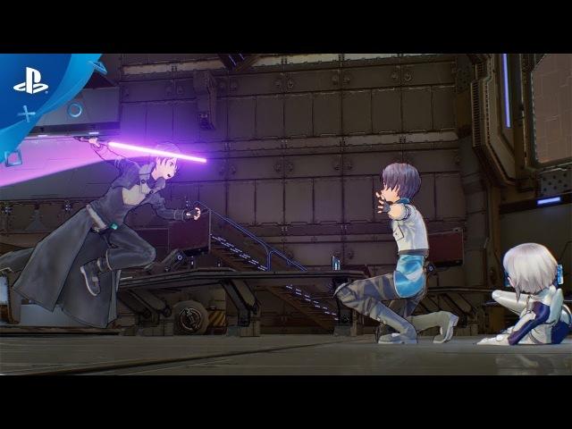 Sword Art Online: Fatal Bullet - Launch Trailer Teaser   PS4