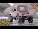 D-90 custom pickup truck in Scale Town - RC CWR