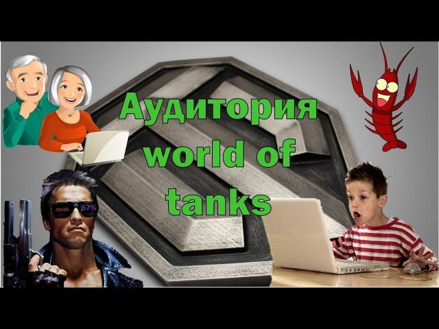 Аудитория Игроков World of Tanks!! Здесь каждый Найдет Себя