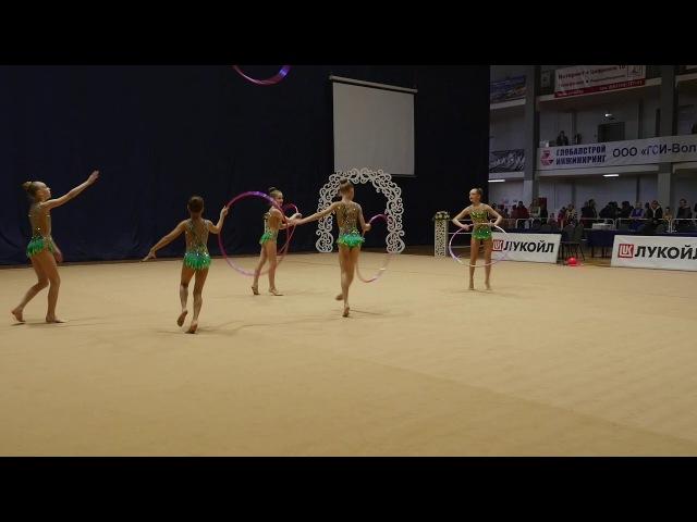 Бор (2006-2007) Обручи Rhythmic Gymnastics Tournament Metelitsa 2018