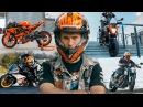Best Motorcycle Stunts Drifts and Fails of 2017 KTM RC 390 KTM Duke RokON vlog 44