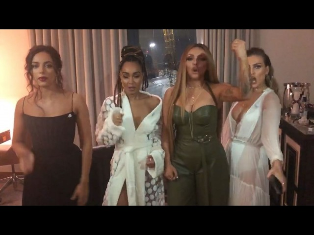 The video vote for 'British Video' has OPENED Guys… we've come this far let's make this happen 😭❤️️ You lot have been UNREAL so far… U N R E A L 🎖 Jump on Twitter now and tweet BRITVOTELITTLEMIX