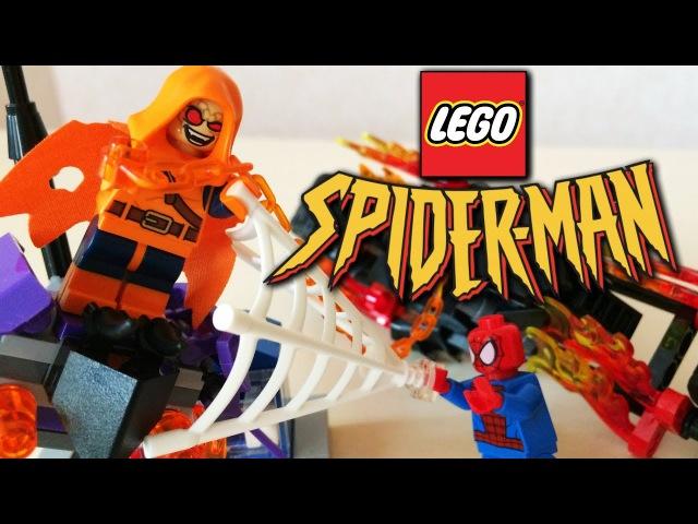 Lego Spider-man: Ghost Rider Team-Up Обзор