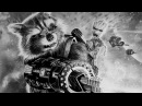 Rocket Groot ♥ Guardians of the Galaxy Vol. 2 ♥ Speed Drawing