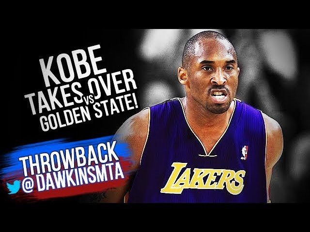 Kobe Bryant UNREAL Take Over At Warriors 2011.01.12 - CLUTCH Kobe With 39, , 30 in 2nd Half!