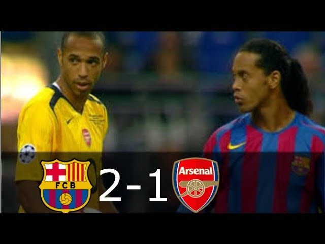 Arsenal vs Barcelona 1-2 - UCL Final 2006 - Highlights (English Commentary) HD