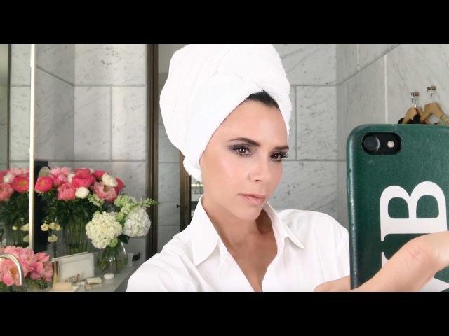 Victoria Beckhams Festive Sparkle | Make Up Tutorial