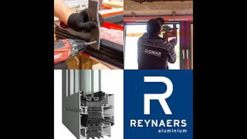 Особенности монтажа алюминиевых окон REYNAERS MasterLine 8 HI Киев