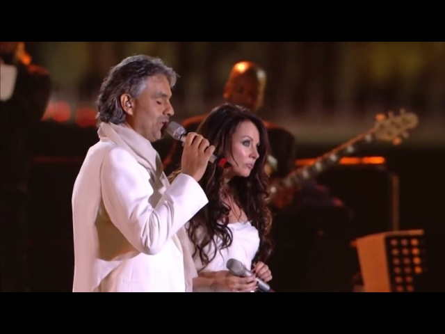 Сара Брайтман и Андреа Бочелли — «Time To Say Goodbye» — Andrea Bocelli Sarah Brightman