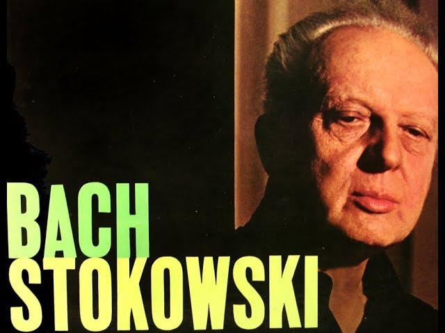 JS Bach / L Stokowski: Little Fugue in G Minor - Original Capitol LP