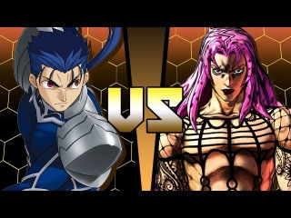 Lancer (Fate/Stay Night) vs Diavolo (Jojo's Bizarre Adventure) - ANIME BATTLE COLISEUM