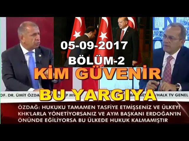 AYM Başkanı, Erdoğan'ın önünde eğiliyorsa Hukuk bitmiştir. 05-09-2017 (2)