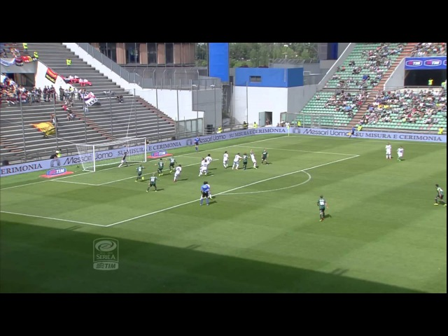 Sassuolo-Genoa 4-2 Highlights 2013/14