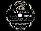 1935 HITS ARCHIVE Anything Goes - Paul Whiteman (Ramona Davies, vocal)