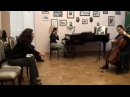 Nonna Natsvlishvili's master class (cello). 1/2