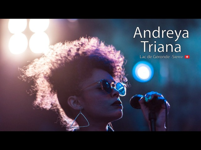Andreya Triana Live Festival Week end au bord de l'eau 30 June 2017 Sierre Switzerland
