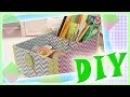 DIY|BACK TO SCHOOL|органайзер для стола·•KLEO PLATYPUS•·