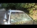 обстрел Луганска 18.07.2014 ,ул 2 Краснознаменная,22