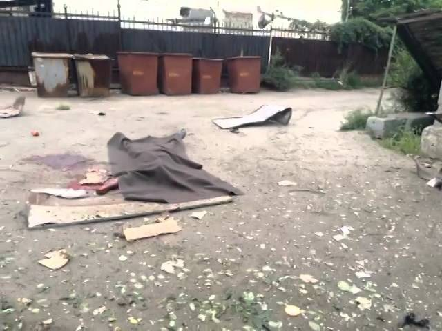 18.07.14 Луганск После бомбежки