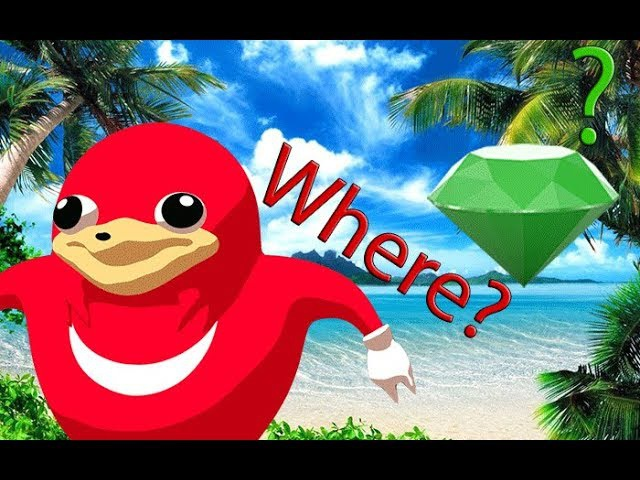 Adventure Knuckles in search of the Master of the Emerald (VRChat)