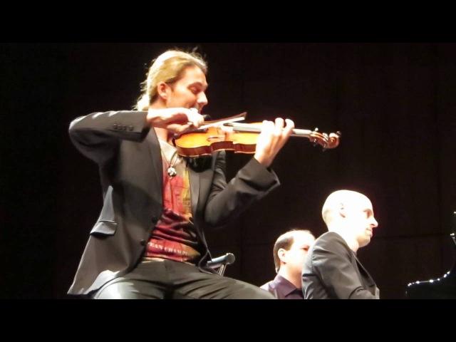 David Garrett Julien Quentin - Romanza Andaluza - Mannheim 13.05.2016