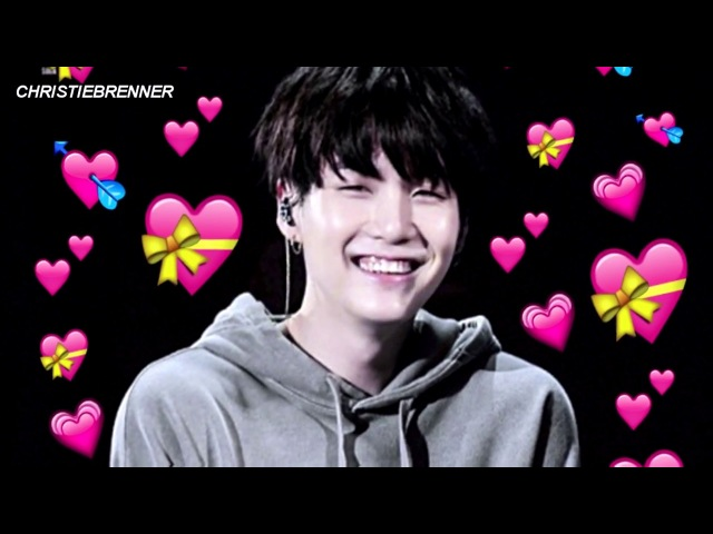 Suga you so fucking precious when you smile l bts suga