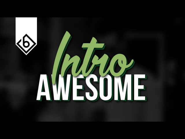 How To Create An Awesome Intro Sequence - Sony Vegas Tutorial