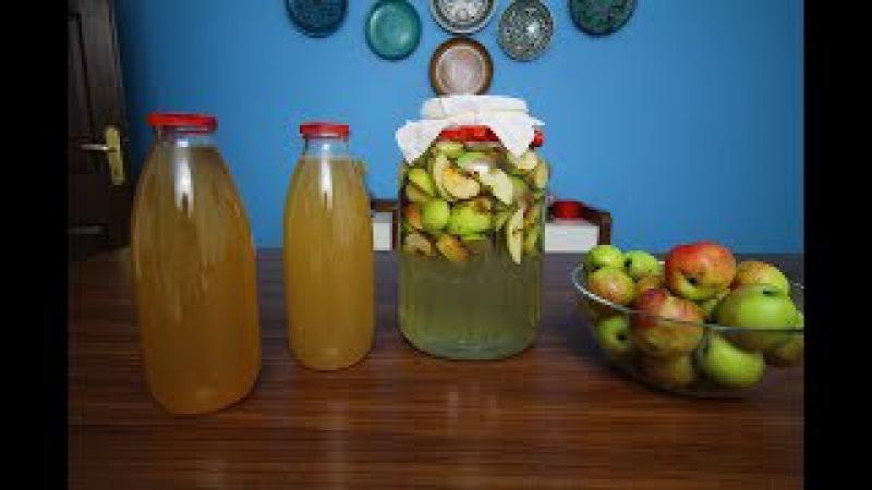 Evde Doğal Elma Sirkesi Yapımı - doğal elma sirkesi - ballı elma sirkesi