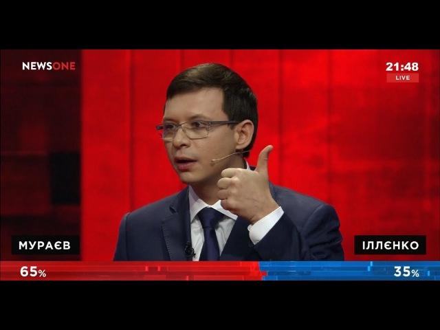 Культурный раскол Украины. Мураев VS Ильенко.