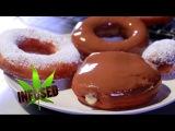 Marijuana Doughnuts with Cannabis Custard Filling &amp Weed Chocolate Icing Infused Eats #39