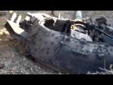 18+ Зверство террористов. Тело украинского десантника в Старобешево подвесили на проводах