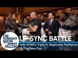 Tag-Team Lip Sync Battle with WWEs Triple H, Stephanie McMahon and The New Day
