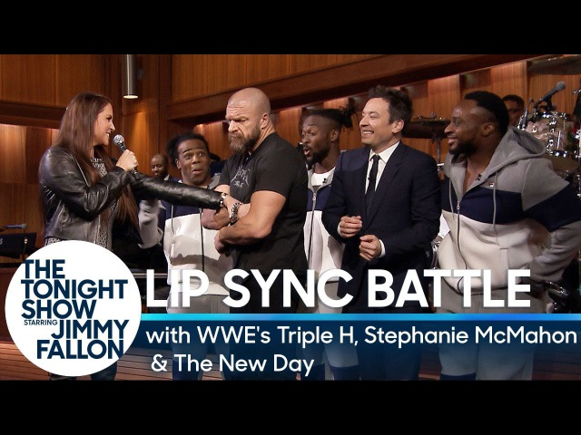 Tag-Team Lip Sync Battle with WWE's Triple H, Stephanie McMahon and The New Day