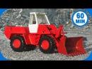 Мультфильмы про Машинки Трактор Павлик Красный Бульдозер в работе Сборник 1 час