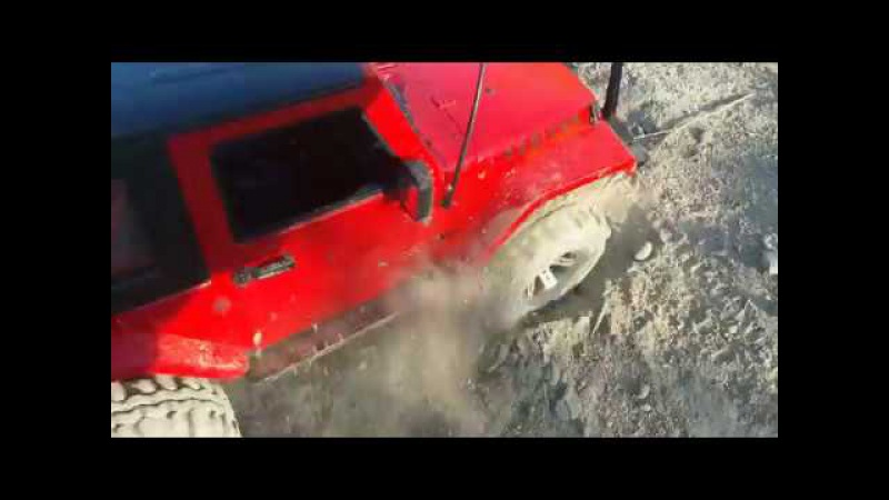 RC Wrangler Rubicon 1/10 - Пыль, Камни и немного Краулинга
