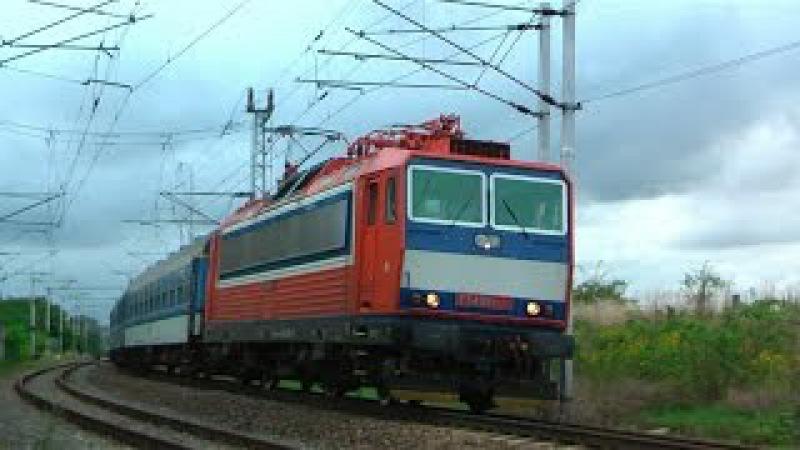 VLAKY-DIMIR (HD): Provoz ve stanici Šlapanice, trať 340 dne 07.09.2015