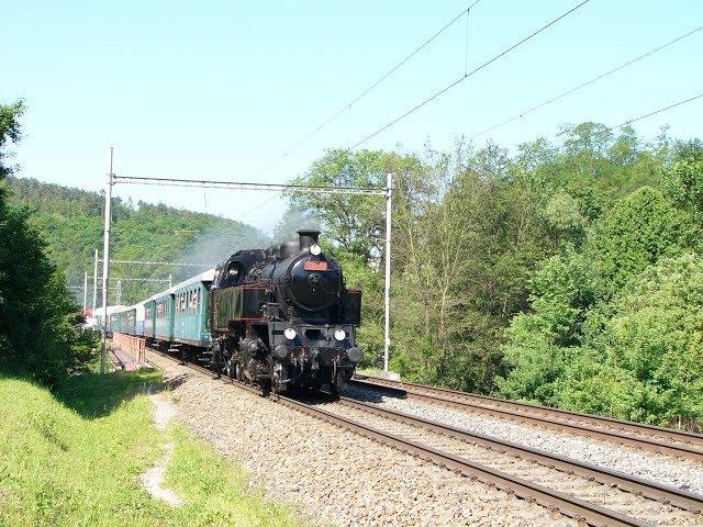 Parní vlak z Brna do Mladějova 3.6.2017