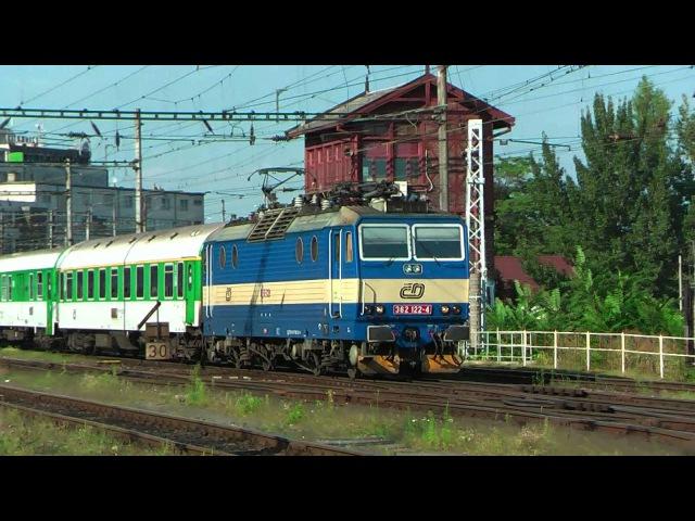 VLAKY-DIMIR (HD): Provoz ve stanici Brno hl.n. 16.08.2009