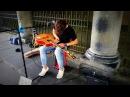 Brad Heidi in Kilkenny on High Street Ireland part 1 Video