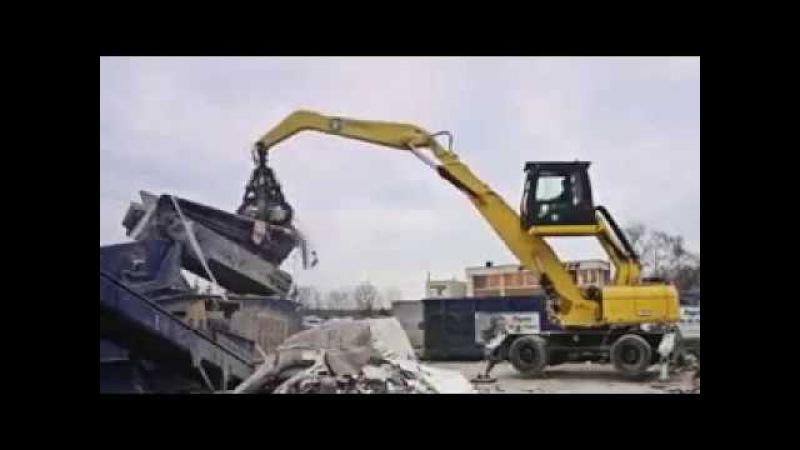 BEIYI Excavator Steel Scrap Grabbing Machine Hydraulic Scrap Grapple