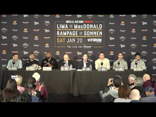Bellator 192 Press Conference