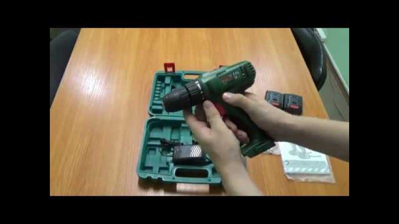 Распаковка аккумуляторного шуруповерта DWT ABS-12 Bli-2 BMC - Интернет-маркет Проводок