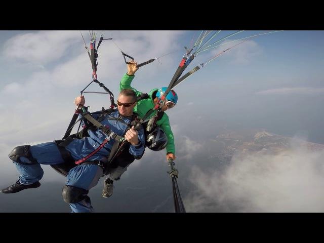 Турция, Кемер, г.Тахталы 2365 м. - мировой рекорд в параглайдинге!