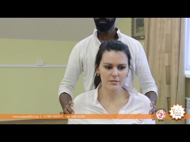 Marma therapy to balance the blood preasure. Dr Brahma Sri Murugathas