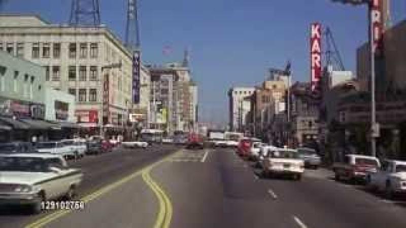 Hollywood Blvd 1960 Vintage Los Angeles on Facebook GETTY IMAGES