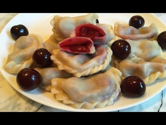 Вареники с Вишней Домашние Вареники Пошаговый Рецепт(Очень Вкусно)