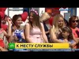 Урочиста зустрч в Севастополь прибув новий фрегат Адмрал Григорович